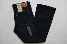 BOYS LEVIS 527 REGULAR FIT BOOT CUT JEANS VARIOUS SIZES 10, 12 HUSKY  NWT $44
