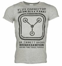 Official Men's Schematic Back To The Future Flux Capacitor T-Shirt