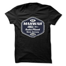 Mahwah Auto Plant New Jersey T Shirt Springsteen Inspired