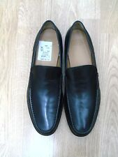 XMAS SALE! NWT BALLY COLMAR BLACK SHOES LEATHER/RUBBER SIZE 11 $450+TAX RETAIL