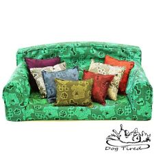 Dog Tired – Pet Sofa. Trendy Small Medium Large Dog bed. Trendy Cover Pets Couch