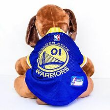 Golden State Warriors Dog Jersey NBA Basketball Officially Licensed Pet Product