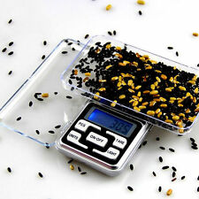 1pc Digital 500 x 0.1g Pocket Scale Tool Jewelry Weight Electronic Balance Scale