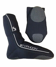 Typhoon Adults 3mm Flat Soled Neoprene Wetsuit Socks