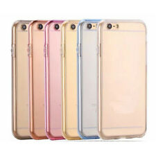 360 Degree Front And Back Slim Clear TPU Gel Cover Case For iPhone 6 6S 4.7 inch