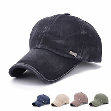 Hot Men Women Adjustable Plain Baseball Trucker Cap Sport Snapback Hip-hop Hat f