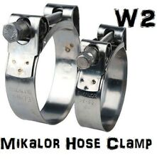 MIKALOR SUPRA T BOLT HOSE CLIP CLAMP | EXHAUST | STAINLESS | W2 | TBOLT CLAMP