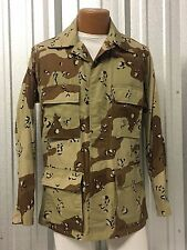 1ST PATTERN DESERT STORM BDU MILITARY COMBAT BATTLE DRESS UNIFORM COAT SHIRT TOP