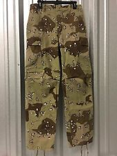 1ST PATTERN DESERT STORM BDU MILITARY COMBAT BATTLE DRESS UNIFORM PANTS TROUSERS