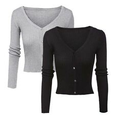 2017 Autumn Women V-Neck Knitted Cardigan Casual Button up Knitwear Sweater Top