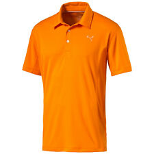 Puma Golf Tech Polo Shirt Climalite Men's orange