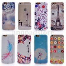 Patterned Soft TPU Silicone Cover Back Case Cover Skin For Various Smart Phone