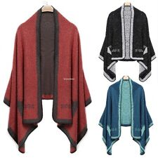 Women's Winter Soft Cozy Warm Shawl Cloak Scarf Animal Printing Wrap Neck Scarf