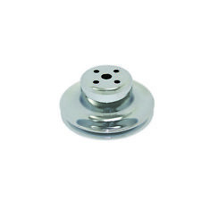 SPECIALTY CHROME 8970 65-66 SBF 1 Groove Water Pump Pulley Chrome