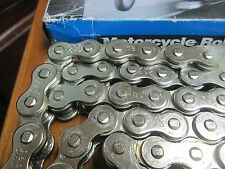 Sapphire Cycle Chain 530-108 Links Nickel Plated Harley Davidson FXR, Universals