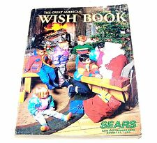 1992 Sears Christmas Wish Book Department Store Catalog JCPenney Macy's MkOffr