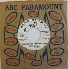 The SPATS: There's A Party / She Kissed Me Last Night - M- (wol) ABC Promo