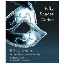 Fifty Shades Trilogy: Fifty Shades Darker Bk. 2 by E. L. James (2012, CD, Unabr…