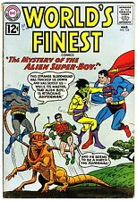 """World's Finest #124  VG/FN  1962  """"strict grading/1day shipping"""" - retail $28.00"""