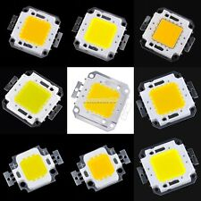 10/20/30/50/100W LED Chip Cool White High Power SMD LED Panel 900-9000LM Lamp FT
