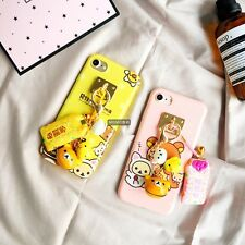 For iPhone 7 7 Plus 6 6S Plus New Fashion Cartoon Fuk Bag Lovely Relax Bear Case