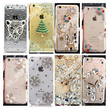 Stylish Bling Crystal Diamond Rhinestone Hard Clear Case PC Cover For Cell Phone