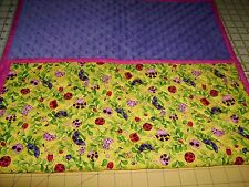Pick the Print-1 or 12-Handmade-X Large Travel Baby Changing Mat-USA Made by MJ