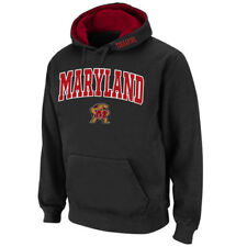 Maryland Terrapins Stadium Athletic Arch & Logo Pullover Hoodie - Black - NCAA
