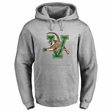 Vermont Catamounts Classic Primary Logo Pullover Hoodie - Ash - NCAA