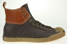 Converse Jack Purcell JOHNNY DB HI leather coffee Shoes BOAT Men Special Edition