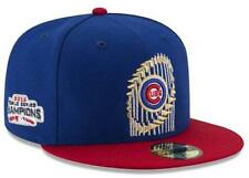 Official 2016 MLB World Series Champions Chicago Cubs New Era 59FIFTY Fitted Hat