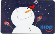 IHOP RESTAURANT GIFT CARD no value SNOWMAN & CARDINAL