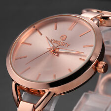 Fashion Lady Women Luxury Alloy Quartz Stainless Steel Back Bracelet Wrist Watch
