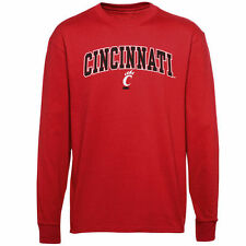 Cincinnati Bearcats Youth Midsize Long Sleeve T-Shirt - Red - NCAA