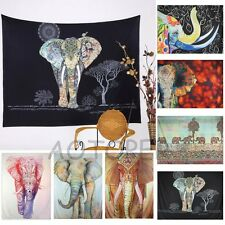 Hippie Indian Decor Tapestry Elephant Mandala Throw Wall Hanging Gypsy Bedspread