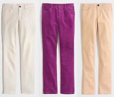 J.Crew Factory Cord Pants Womens Matchstick Straight & Narrow Fit Corduroy Jeans