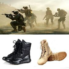 Men Special Patrol Boots Desert New Combat Work Army Military Tactical Shoes K