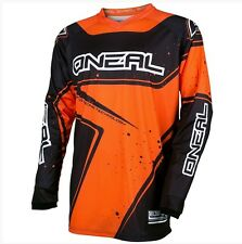 ONEAL 2017 ELEMENT BLACK / ORANGE KIDS MOTOCROSS MX JERSEY YOUTH