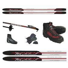 ALL THE WHISTLES! BACK COUNTRY XC SKIS PKG-BC SKIS, BC BOOTS/BINDINGS, BC POLES