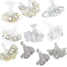 500 Pcs Jewellery Display Price Swing Tags Label Tie Party Label Price Cards