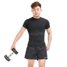 Polyester Men Sports Shorts  Casual Trousers Jogging Running Gym Pants New W1X6