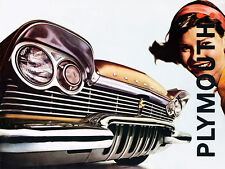 1957 Plymouth - Promotional Advertising Poster