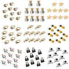 10Pcs/Lot Cute Shapes Charm Pendant for Necklace Fit Bracelet DIY Jewelry Crafts