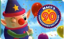MACY'S GIFT CARD no value *NEW*2016 JUST RELEASED! 90 YEARS MACYS DAY PARADE