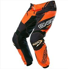 ONEAL 2017 ELEMENT BLACK/ORANGE KIDS MOTOCROSS MX PANTS YOUTH