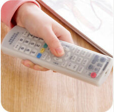 Dust Protective TV Remote Control Silicone Case Skin Cover Soft Tensile