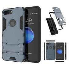 Hybrid 2 in 1 Armor Case Hard Cover with Kickstand for iPhone Samsung Huawei LG