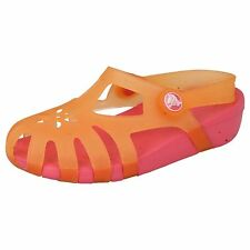 Girls Crocs Chameleons Cantaloupe/Hot Pink Sandals Style SHIRLEY