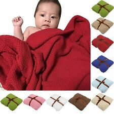 Baby Nursery Soft Cotton Blankets Receiving Blanket Swaddling Bed Sleeping Bag