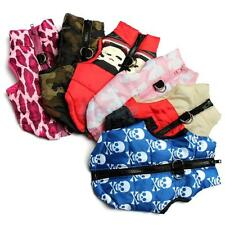 Pet Dog Clothing Padded Vest Harness Puppy Small Apparel Coat Clothes Size XS-L